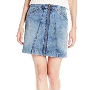 NWT Buffalo Zip Up Denim Skirt
